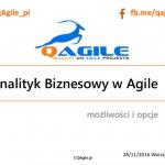 Analityk Biznesowy w Agile SIW